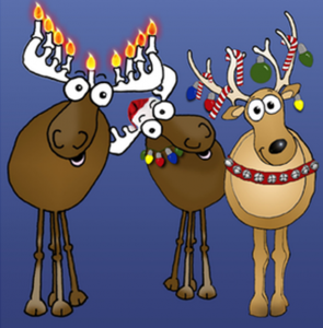Holiday reindeer