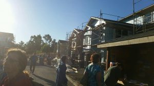 DKI Services participated in a Habitat for Humanity build in Martinez, CA