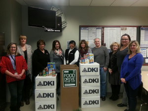 DKI Food Drive Event group image