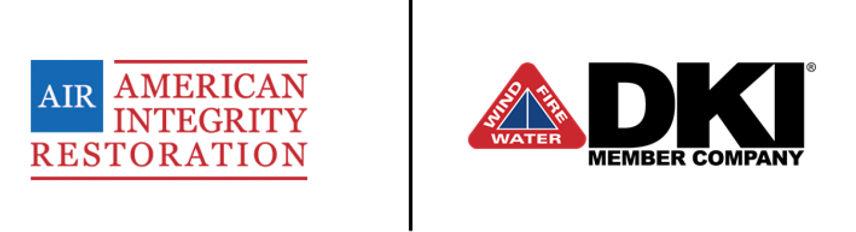 American Integrity Restoration a DKI Member Company logo