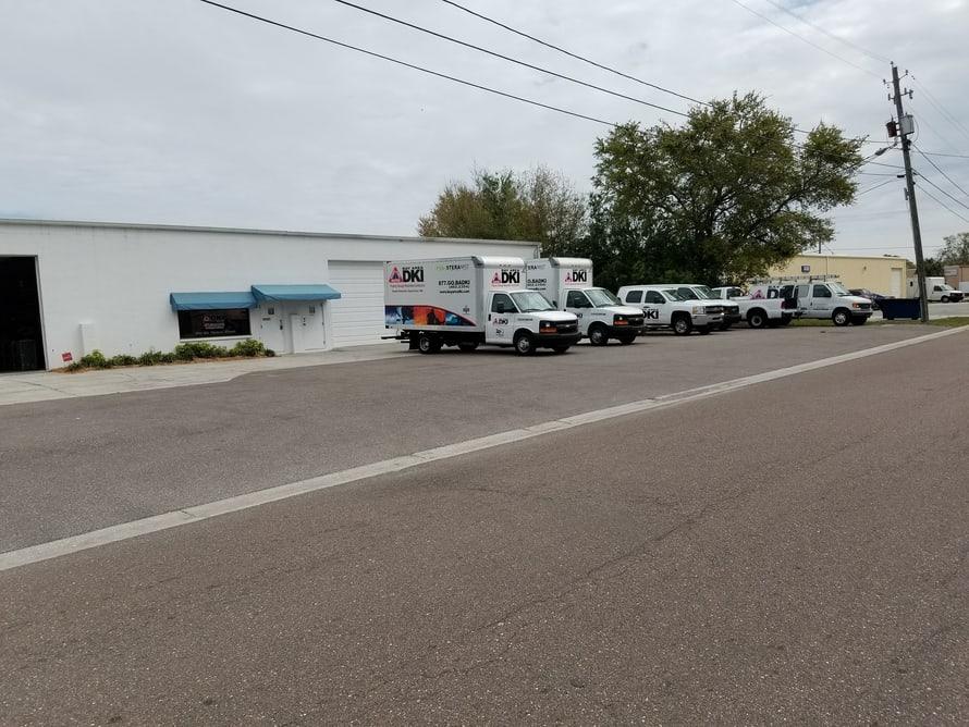 Bay Area DKI service trucks and vans 2