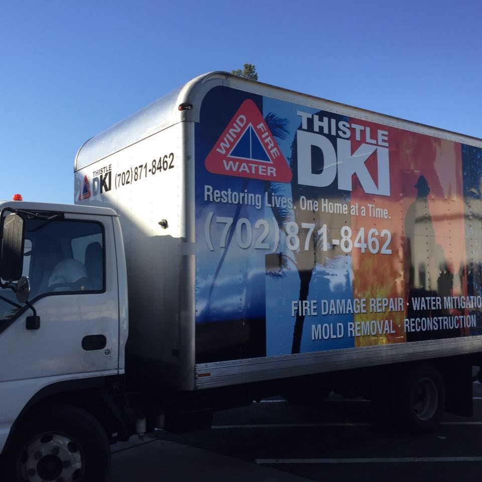 Thistle DKI service truck
