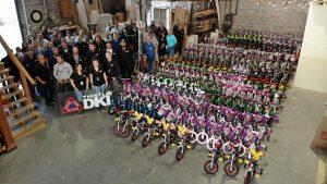 THISTLE DKI DONATES OVER 200 BICYCLES
