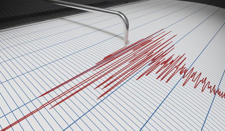 Seismograph for earthquake detection