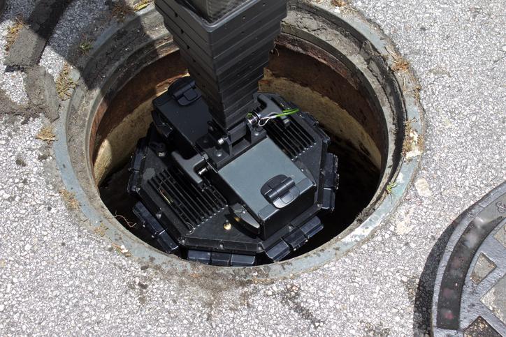 Digital 3D manhole inspection camera