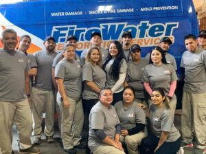 FireWater Restoration Services Team